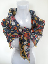 Fancy pattern fashion scarves import china products