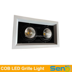 20W Double led grille down light AC85-277V led ceiling lamp