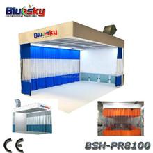 BSH-PR8100 Good choice bus paint booth/paint shop/paint prep station for sale