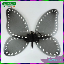 High Quality Black Halloween Wings Butterfly Fairy Wings