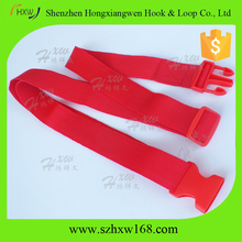 Red 3.8cm*2m custom packing strap/reusable polyester luggage belt