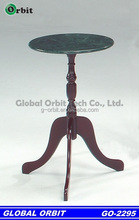 Antique marble top coffee table made in Taiwan
