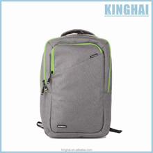 Simple design grey laptop backpack for business