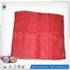 Red pe raschel net bag vegetable packing