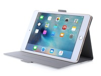 White Slim 360 Degree Rotation Pu Leather Tablet Case For ipad mini 4