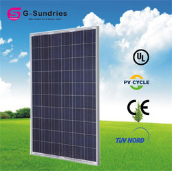 High quality solar panel approved tuv/ul/ce certificates