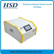destroying hard drive with HSD-Super degausser