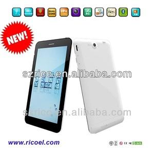 Yeni ürün!! 7 inç mtk6577 3g gps bluetooth çift çekirdekli tablet android
