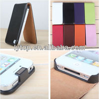 For Apple iPhone 4 Case Flip Mobile Cell Phone Protective Flip Leather Case For iPhone 4