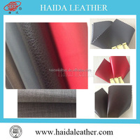 PU artifical leather, pu leather stocklot, pu synthtic leahter for shoes lining