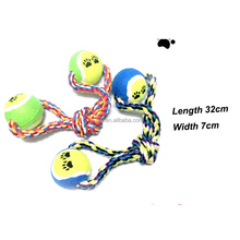 2015 hot sales wholesale cotton rope ball dog toy