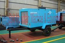 Low pressure air compressor 7 bar 100 psi 7.5 m3/min 125 L/s 265 CFM air compressor portable LGCY-7.5/7 for sandblasting