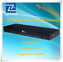 32 ports FXS/FXO Gateway VoIP ACOM232 which convert PSTN to SIP e1 fxo fxs