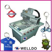 pvc rubber keychain making machine/Machinery