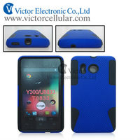 Mobile phone combo PC +silicon case for new Hua wei Y300