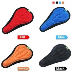 Fashion Bicycle Saddle of Bicycle Parts , Cycling Seat Mat Comfortable Cushion Soft Seat Cover for mountain bike accessories