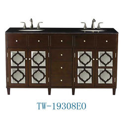 Hot sale home use and hotel use German style bathroom vanity furniture