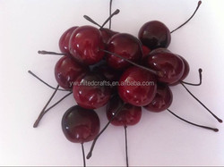 2015 hot sales Imitation fruit cherry for home decoration