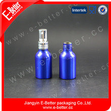 mini empty promotion 30ml aluminum cosmetic packaging bottle