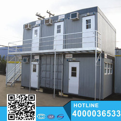 Beautiful Prefabricated container house/office