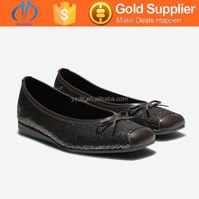 black color bulk wholesale flat shoes in snake