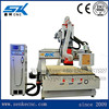 Heavy duty 9kw HSD spindle china 1325 furniture carving woodworking cnc router machine with tool change