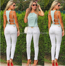 Walson Instyles Hollow out Ladies Blouses & Tops womens clothing 2015 Wholesale Clothing Cheap wholesale clothes for women