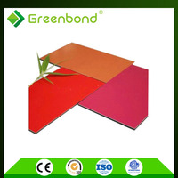 Greenbond skillful composite marble aluminum trailer side panel