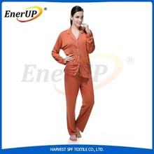 Women Bamboo Hospital Pyjamas Medical Copper Pajamas