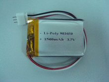 Rechargeabl li-polymer battery 3.7v 1500mah with trade assurance