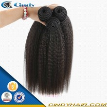 quality high top grade mink italian 100 human hair yaki straight weave hair