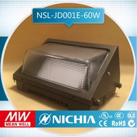 sample free of charge 5700k 60w luminaires compact made in china dlc ul new model outdoor led wall pack high quality