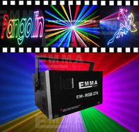 5000 mw RGB LASER SHOW DMX ILDA SDCARD