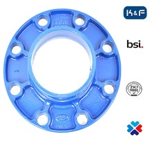 Water Supply Grooved Pipe Accessories Adaptor Flange