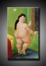 botero reproduction oil painting on canvas for home decoration