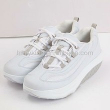 Gold assurance supplier natural reflections shoes with shoelaces upper material PU+Mesh