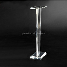 New product Acrylic furniture good design hydraulic test bench for sale tea table