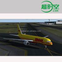 DHL express to El Salvador