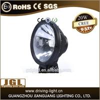 LED Car Spotlights, Cheap 6inch 20w LED Driving LIP68 led Car Spotlights LED Headlight cob led light work light 2015 hot sales