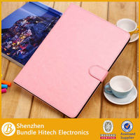 business PU leather flip case for apple ipad air