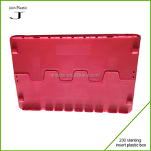 Popular red plastic box moving company use