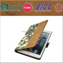 camouflage case for Ipad mini with standing function