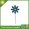 beautiful blue flower decoration garden stakes wholesale