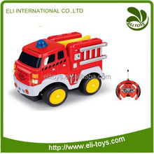 Fire fighting truck rc fire truck with sound and light