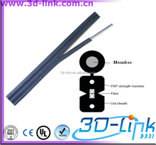China Supplier Wholsale High Performance Product Loose Tube Duplex FTTH Adss Fiber Optic Cable For Building Cabling