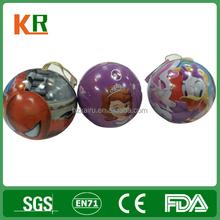 Custom Printing Gift Metal Can Christmas Ball