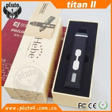 Alibaba china portable hebe titan2 mini dry herb vaporizer pen with LCD screen
