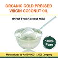 100% natural de aceite de coco virgen