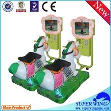2015 Kids cheap plastic horse riding racing equipment