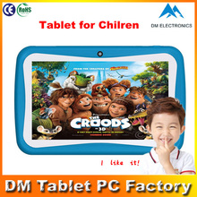 China 7 Inch BOXCHIP A13 Cortex A8 Kids Pad, kids educational tablet kids drawing tablet alibaba express